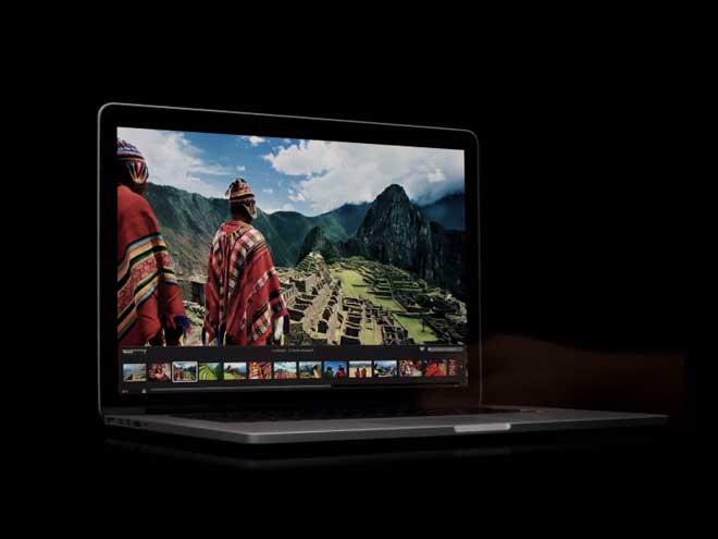 La première publicité d'Apple pour le MacBook Pro Retina