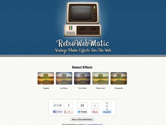 Retrowebmatic : appliquer des effets à n'importe quel site