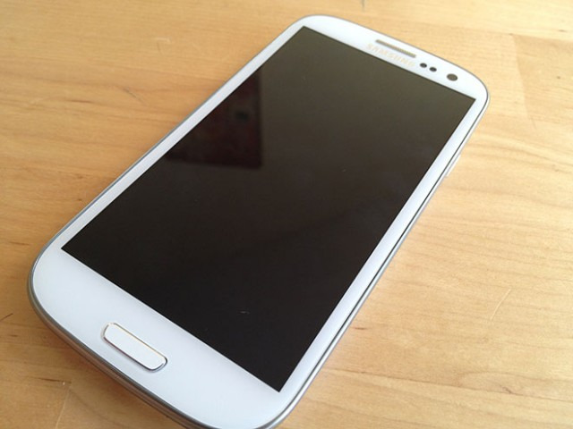 Test : Samsung Galaxy S3