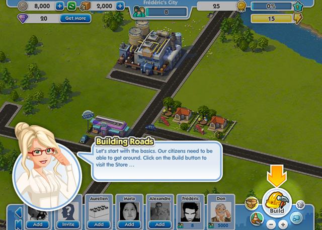 Sim City Social : ouverture de l'open bêta