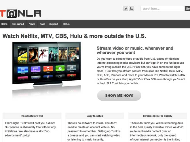 Accéder à Netflix, à Hulu et à tous les autres de n'importe où dans le monde