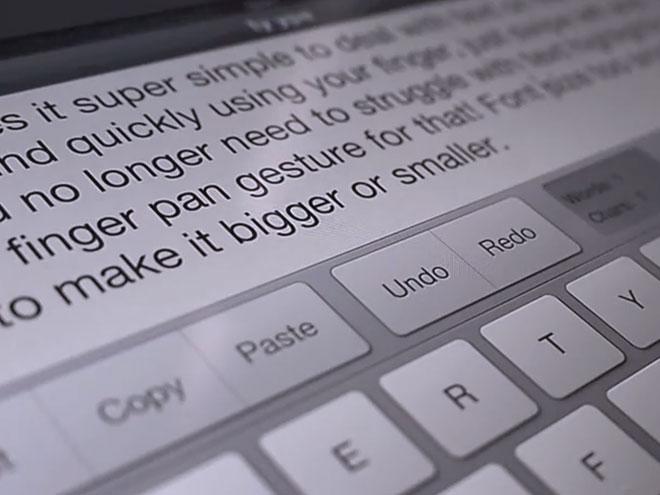 Tyype HD : améliorer le clavier virtuel de l'iPad