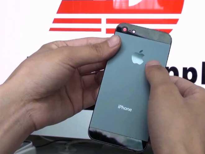 iPhone 5 : une vidéo de la coque arrière