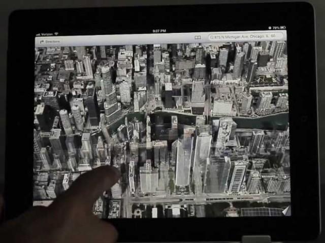 Vidéo : la nouvelle application Maps sur iOS 6
