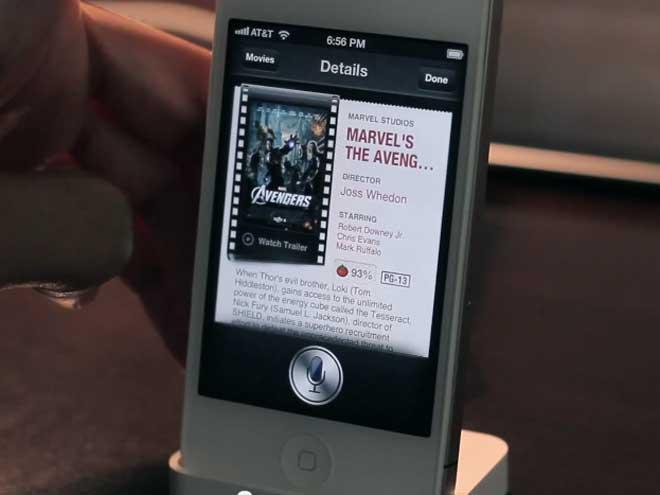 Vidéo : Siri sur iOS 6