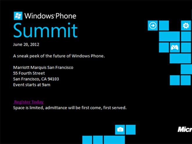 Windows Phone 8 : un premier aperçu le 20 juin !