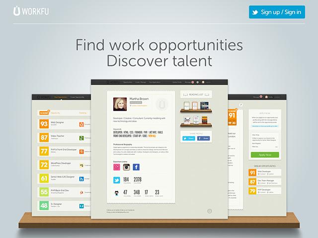 Trouver du travail sur les réseaux sociaux avec Workfu