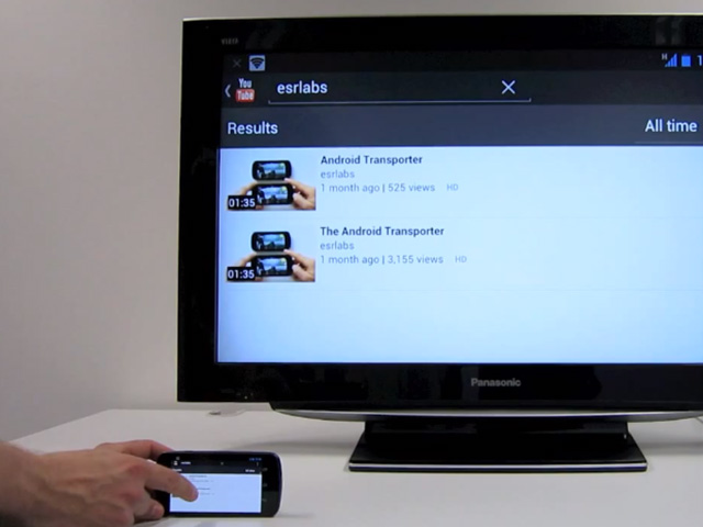 Android Transporter + Raspberry Pi = Nexus Q