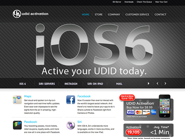 Apple va s'attaquer aux sites vendant des activations iOS 6 Bêta