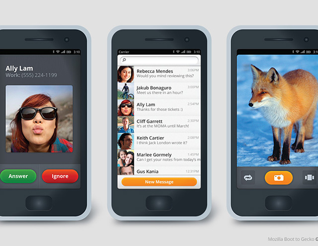 Mozilla : Boot To Gecko devient Firefox OS