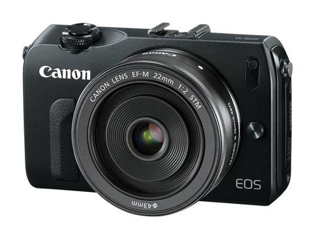 Canon EOS M : une photo du premier APN hybride de Canon ?