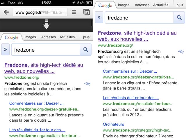 Chromizer : une tonne de fonctionnalités pour Chrome iOS (Cydia)