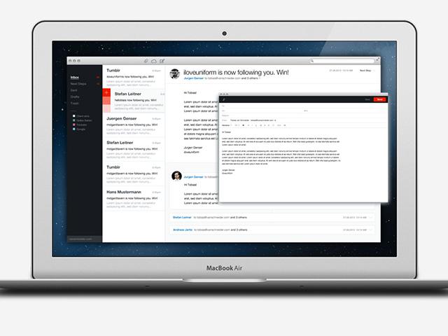 .Mail, un beau concept de client mail pour Mac OS
