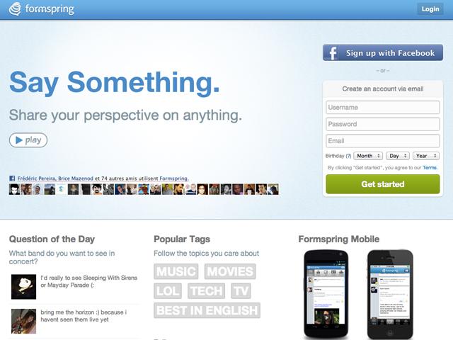Formspring : plus de 400.000 mots de passe dans la nature
