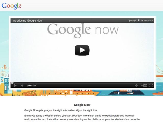 Google Now officieusement disponible sur les mobiles rootés sous Ice Cream Sandwich