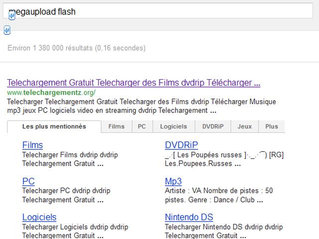 Google : vers des sitelinks avec onglets dans les SERPS