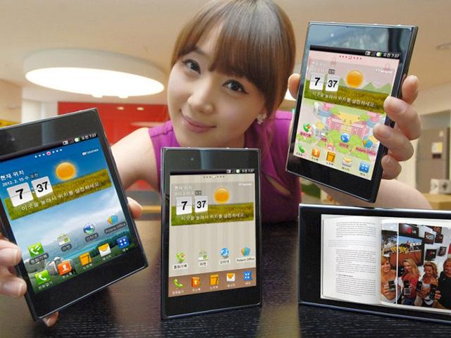 LG : lancement du LG Optimus 4X HD et du LG Optimus Vu en France dès septembre