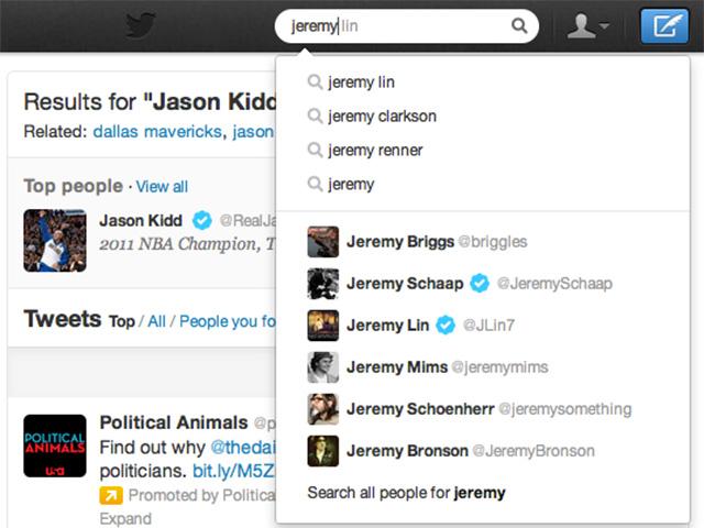Twitter : une mise à jour décevante pour la recherche