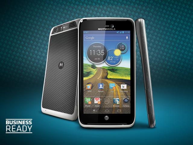 Motorola Atrix HD : écran de 4.5 pouces, ICS et nouveau look
