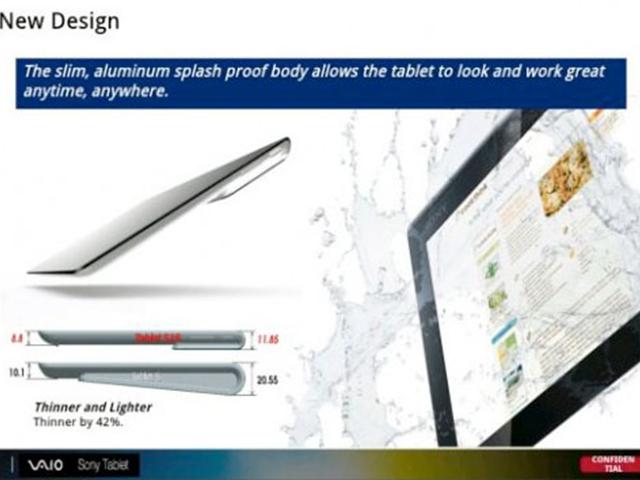 Sony Tablet S2 : Tegra 3, nouveau design et un clavier inspiré par Surface