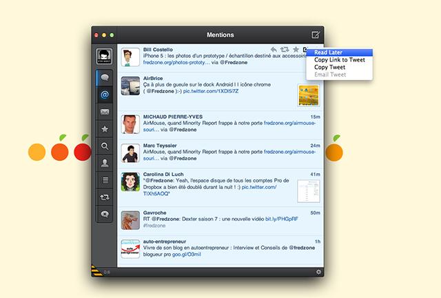 Tweetbot est disponible sur Mac OS X en version alpha !