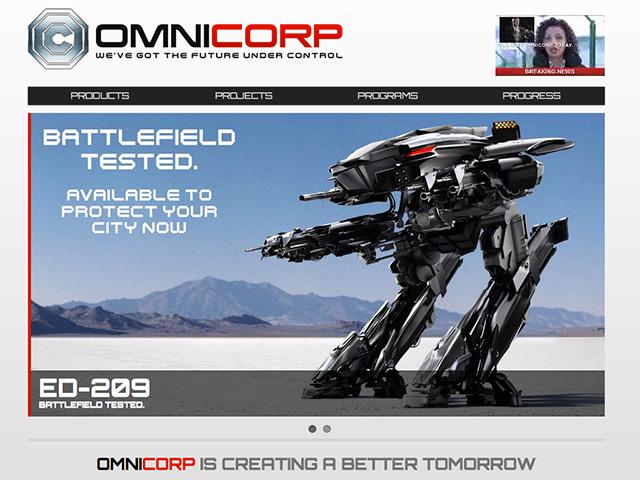 Une première vidéo pour Robocop, le remake