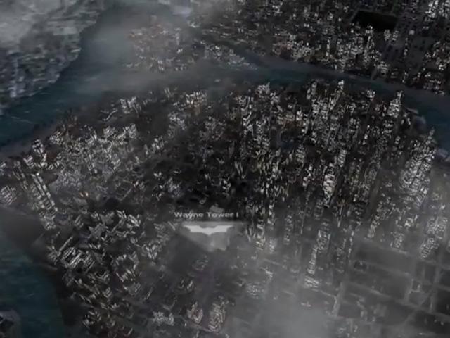 Visiter Gotham City en 3D dans Nokia Maps, ce sera bientôt possible