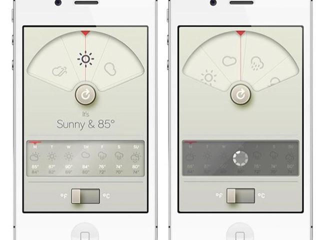 WTHR, une magnifique application météo pour iPhone / iPod Touch / iPad
