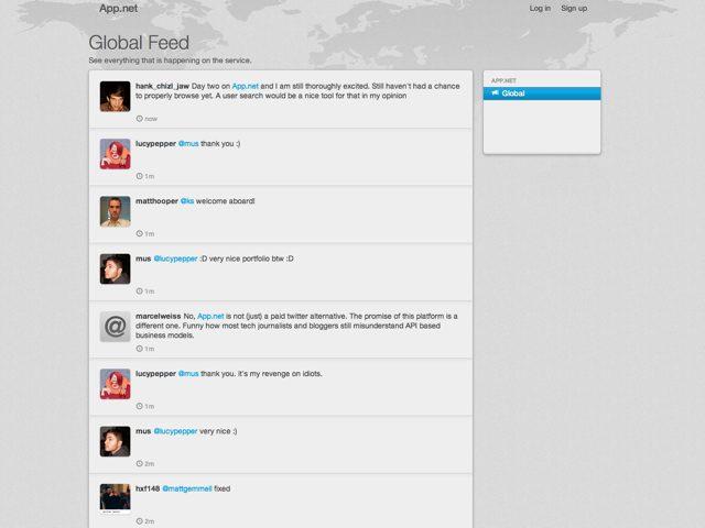 App.net, le réseau social payant qui veut concurrencer Twitter