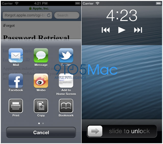 iOS 6 : certaines applications optimisées pour la résolution de l'iPhone 5