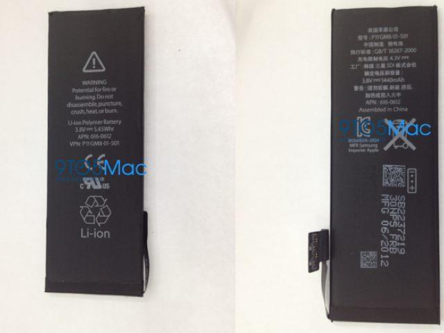 iPhone 5 : les photos de la batterie du nouvel iPhone