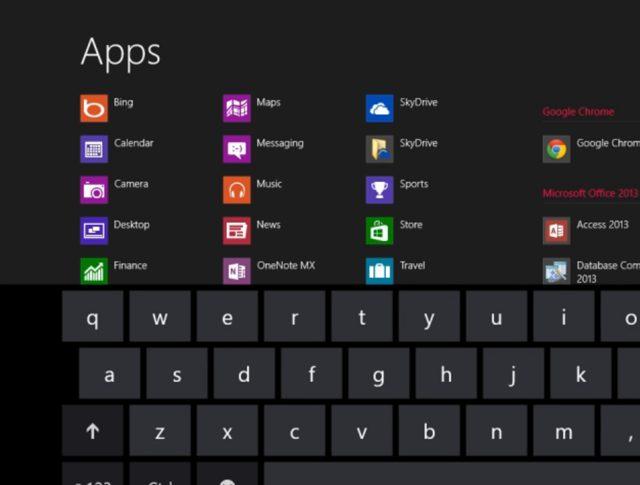 Windows 8 : présentation de l'application Bing en vidéo