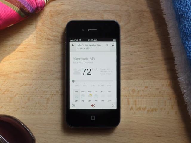 Google iOS : on va pouvoir lui parler, et il va nous répondre !