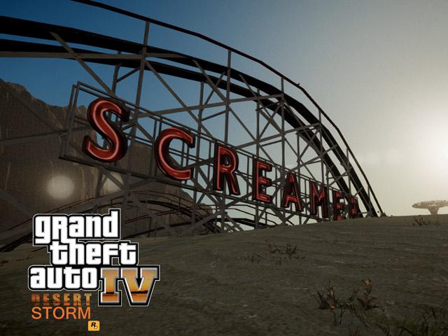 GTA 4 Desert Storm : la fin du monde dans Grand Theft Auto 4