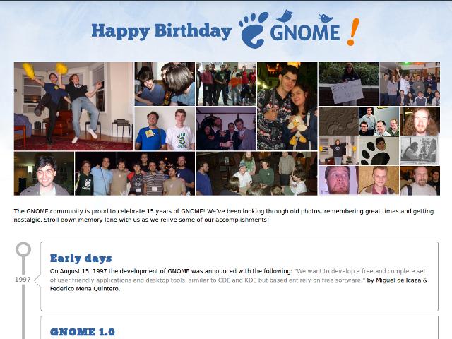 Joyeux anniversaire GNOME !