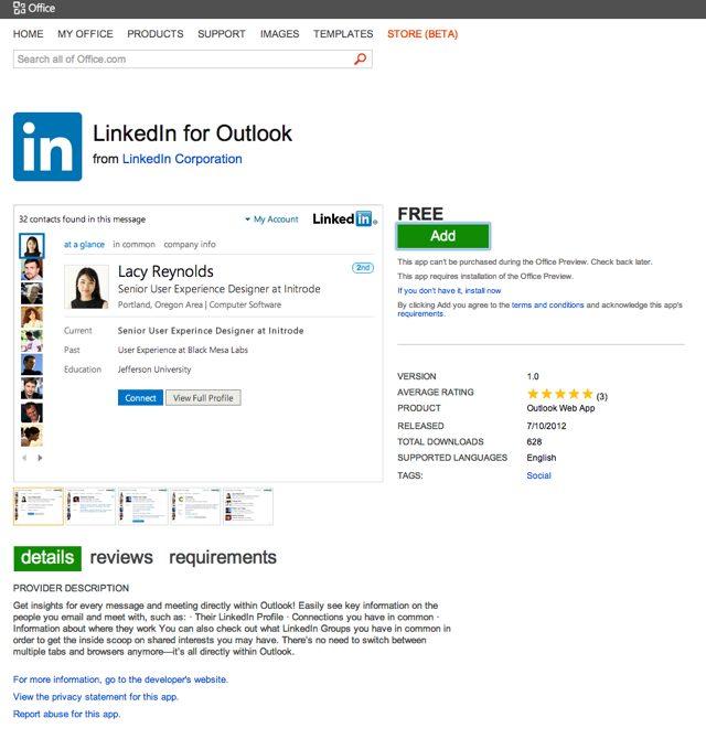 Microsoft : ouverture de l'Office Store