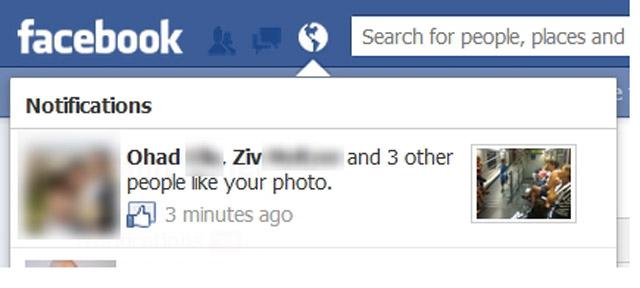 Facebook : bientôt des miniatures dans les notifications