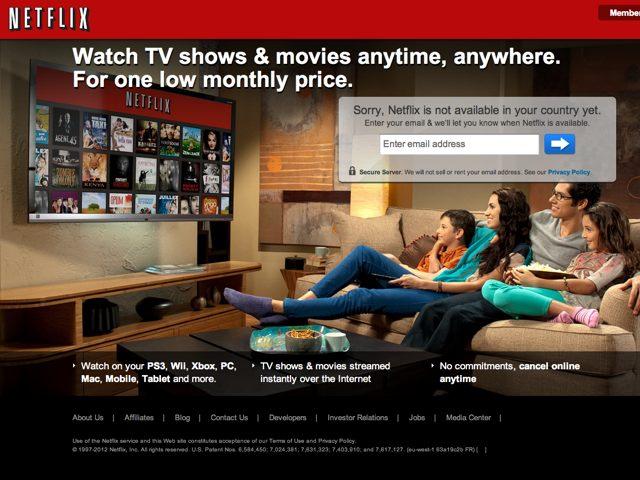 Netflix : disponible en Europe du Nord avant la fin de l'année !