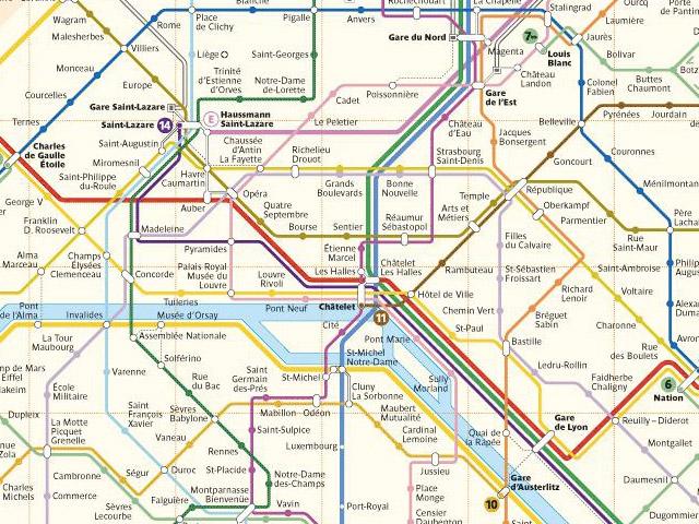 La RATP passe (un peu) à l'open data et libère le plan du métro