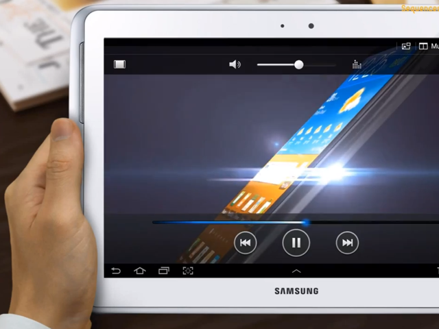Samsung Galaxy Note 10.1 : quelques fonctionnalités en vidéo