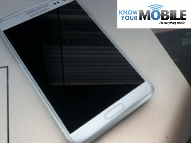 Encore une photo du Samsung Galaxy Note 2 ?