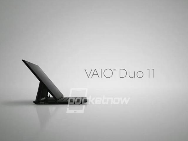 Sony VAIO Duo 11, l'hybride Windows 8 de Sony