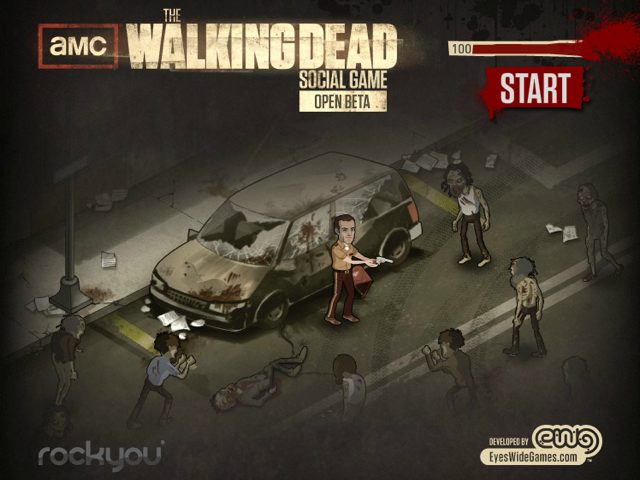 The Walking Dead Social Game dispo sur Facebook