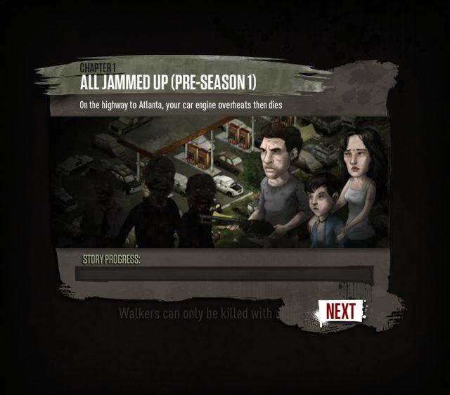 The Walking Dead Social Game dispo sur Facebook