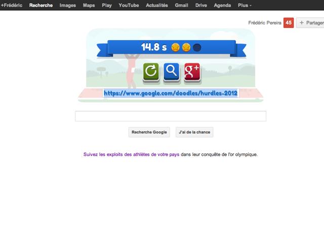 Comment tricher à la course de haies du doodle de Google