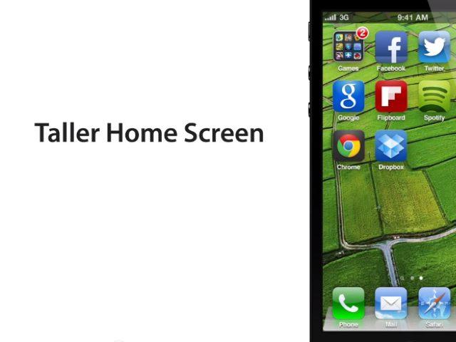 iPhone 5 : l'écran de 4 pouces du nouvel iPhone dans une belle animation
