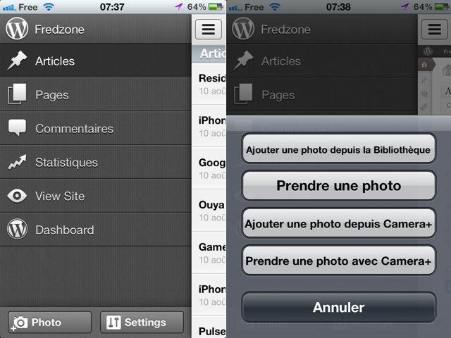 Wordpress 3.1 dispo sur iOS, avec plein de nouveautés