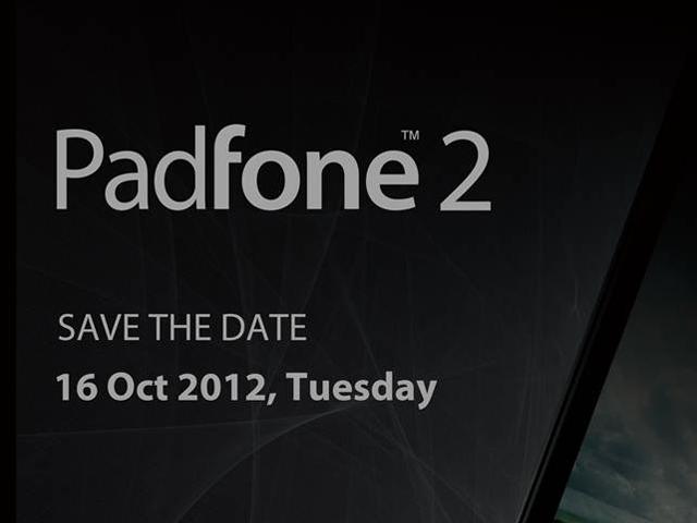 Asus Padfone 2 : une annonce le 14 octobre et les premières spécifications