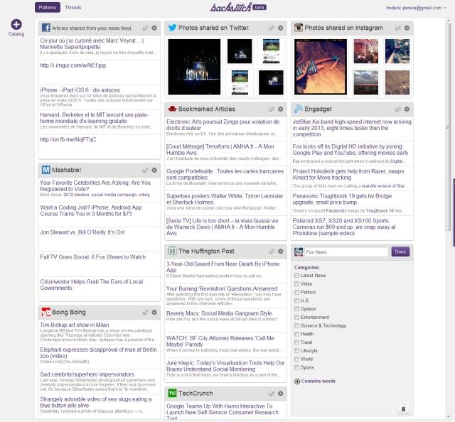 Backstitch : un iGoogle-like pour les nostalgiques