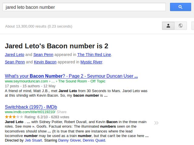 Nombre de Bacon